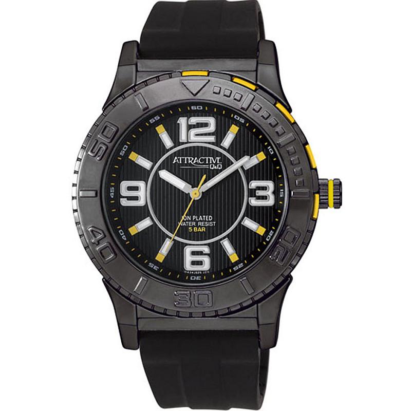 Мъжки часовник Q&Q ATTRACTIVE - DA34J525Y