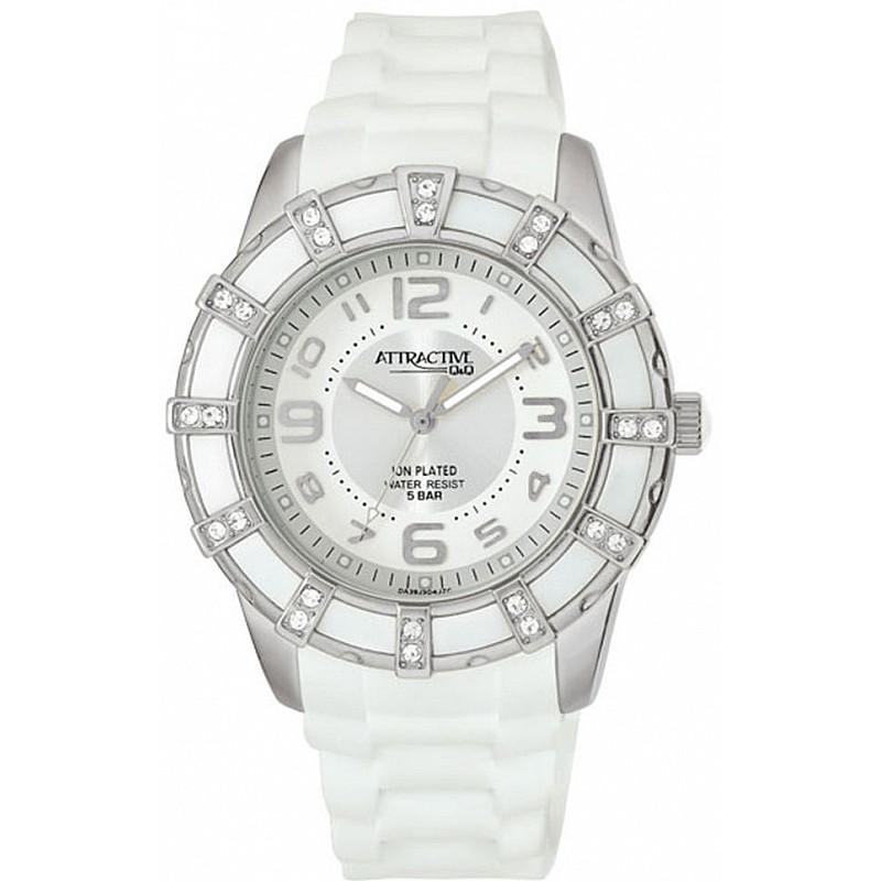 Дамски часовник Q&Q ATTRACTIVE - DA39J304Y