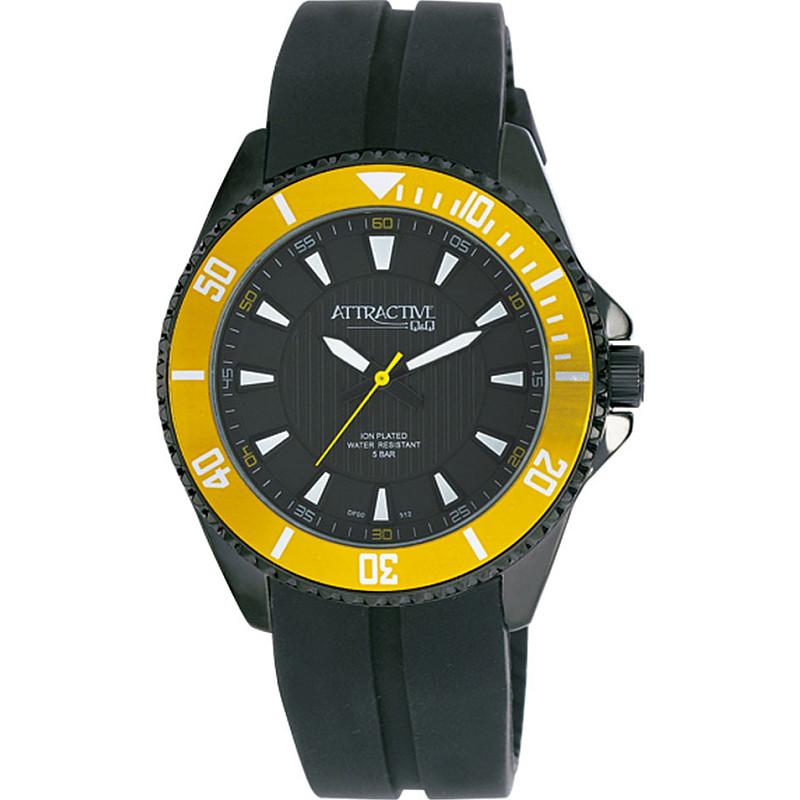 Мъжки часовник Q&Q ATTRACTIVE - DF00J512Y