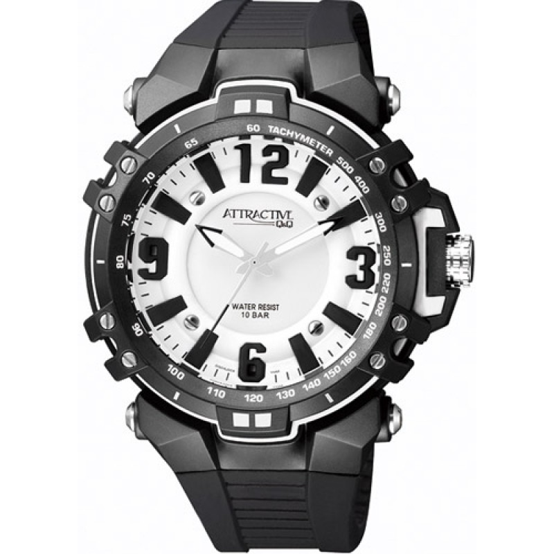 Мъжки часовник Q&Q ATTRACTIVE - DG04J004Y