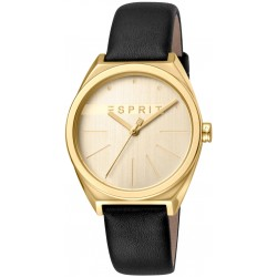 Дамски часовник ESPRIT Slice Gold Black - ES1L056L0025