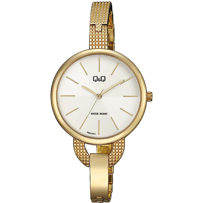 Дамски аналогов часовник Q&Q - F667J011Y 1