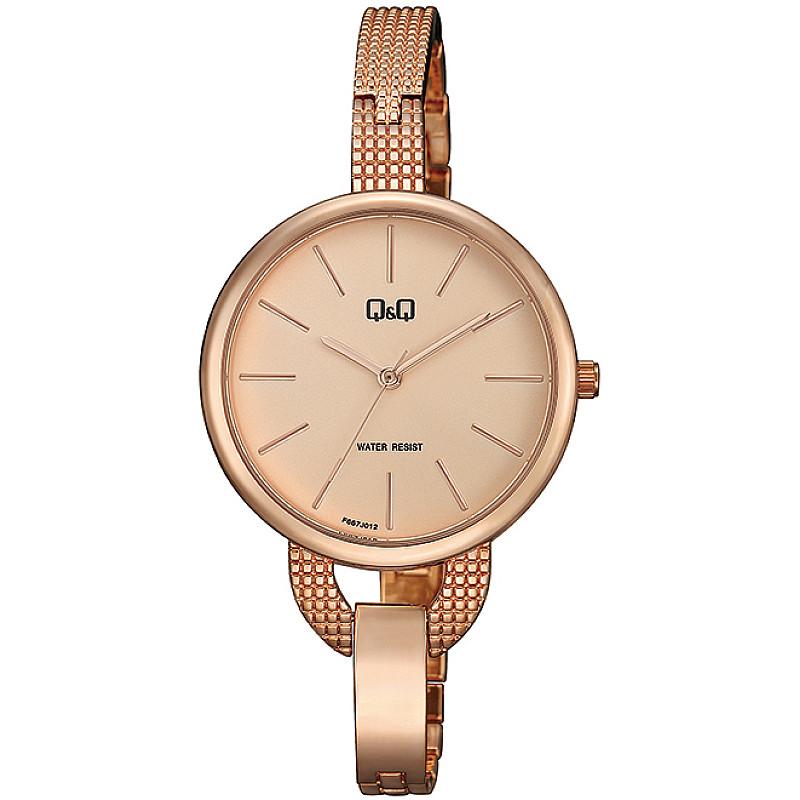 Дамски аналогов часовник Q&Q - F667J012Y 1