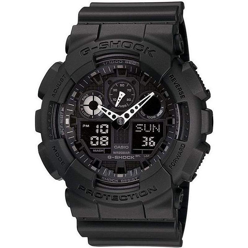 Мъжки часовник CASIO G-SHOCK - GA-100-1A1ER 1