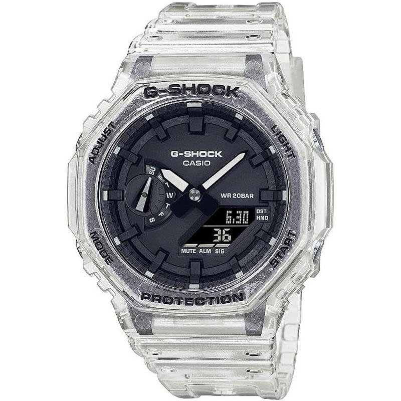 Мъжки часовник Casio G-Shock - GA-2100SKE-7AER 1