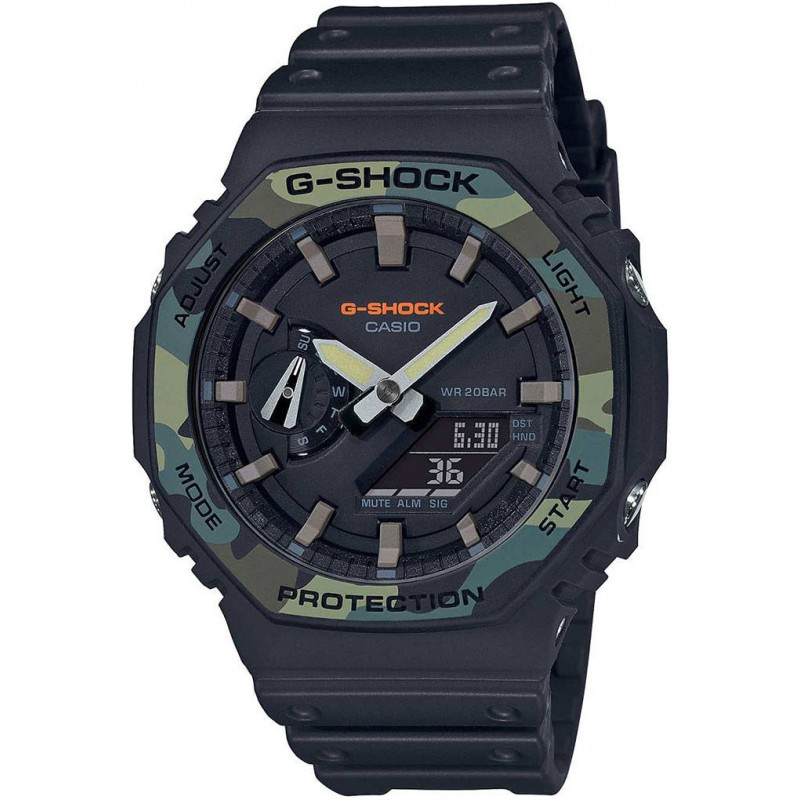 Мъжки часовник Casio G-Shock - GA-2100SU-1AER