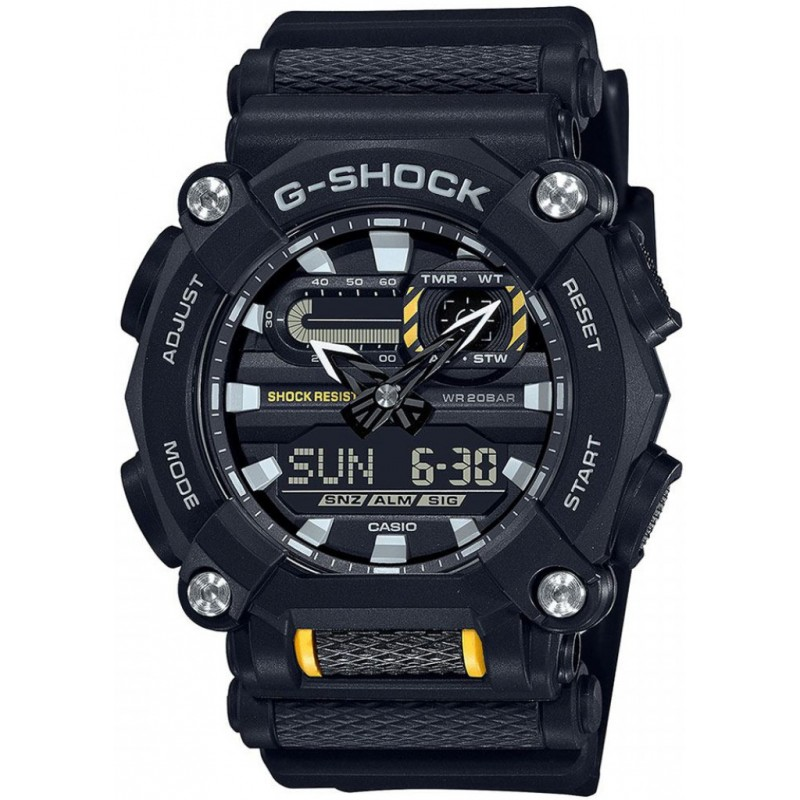 Мъжки часовник Casio G-Shock - GA-900-1AER 1