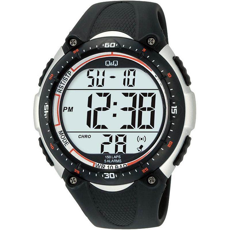 Мъжки дигитален часовник Q&Q - M010J002Y