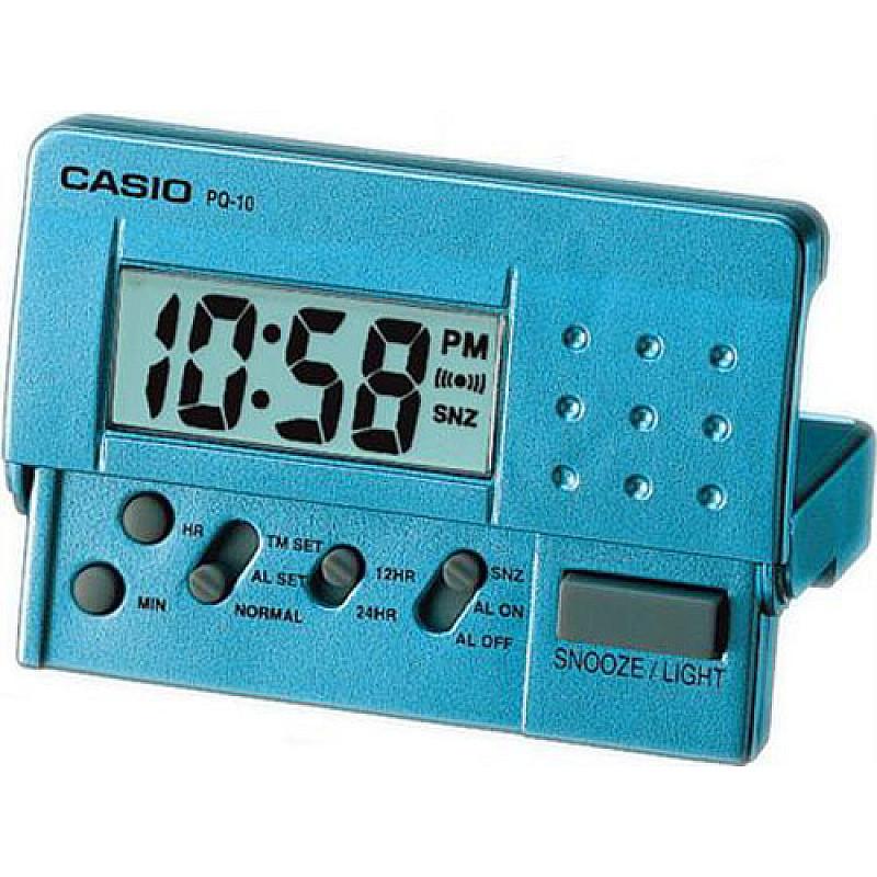 Будилник CASIO - PQ-10D-2R