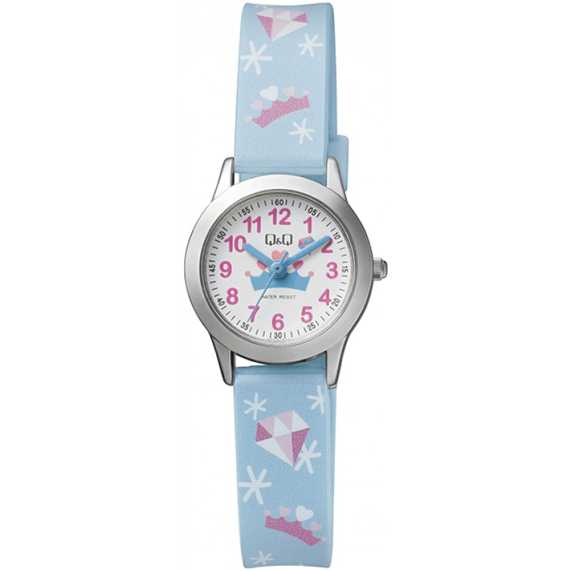 Детски аналогов часовник Q&Q - QC29J314Y 1