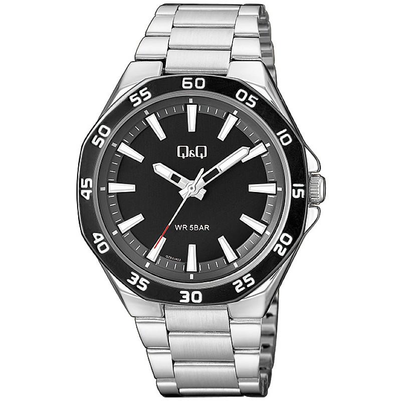 Мъжки аналогов часовник Q&Q - QZ82J402Y 1