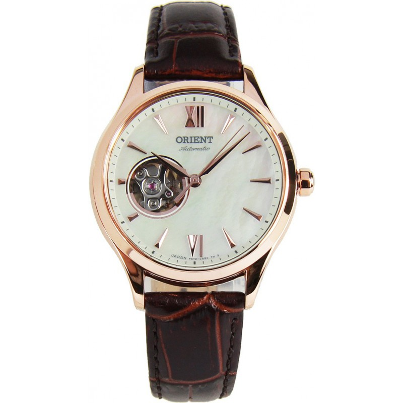 Дамски автоматичен часовник ORIENT Classic Open Heart - RA-AG0022A