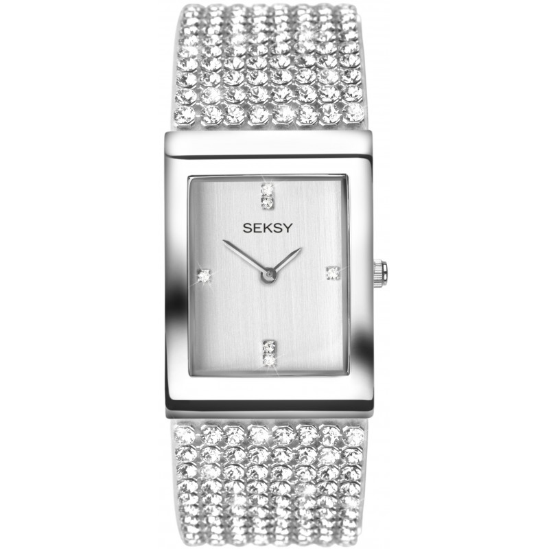 Дамски часовник Seksy Krystal Swarovski Crystals - S-2375.37 1