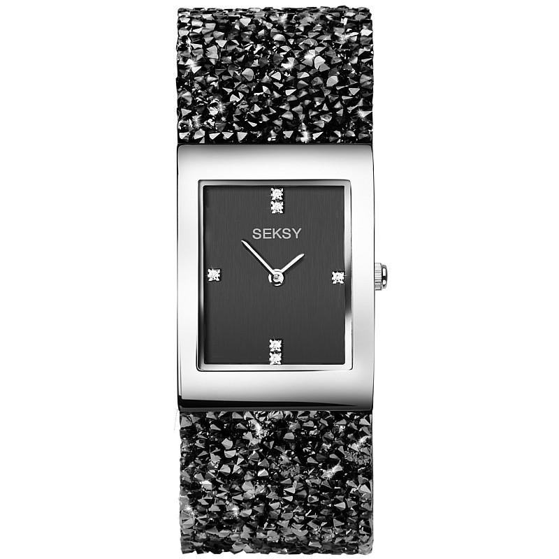 Дамски часовник Seksy Rocks Swarovski Crystals - S-2573.37 1