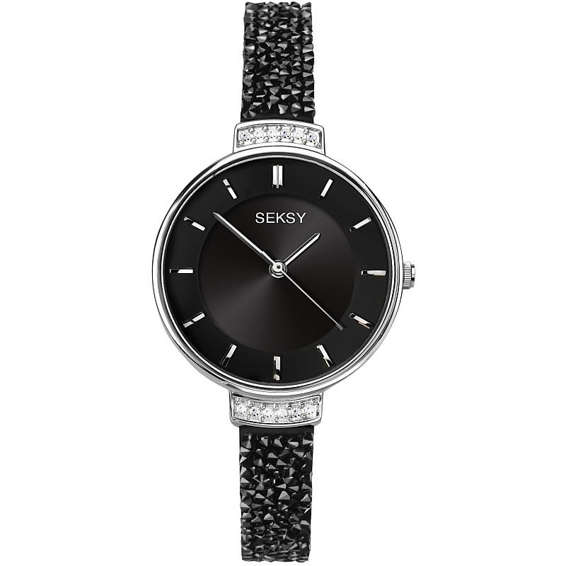 Дамски часовник Seksy Rocks Swarovski Crystals - S-2578.37 1