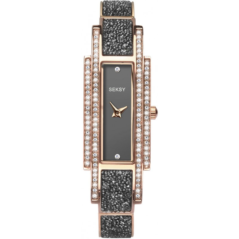 Дамски часовник Seksy Rocks Rose Gold Swarovski - S-2585.37 1