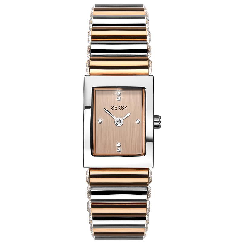 Дамски часовник Seksy Edge Swarovski Crystals - S-2867.37 1