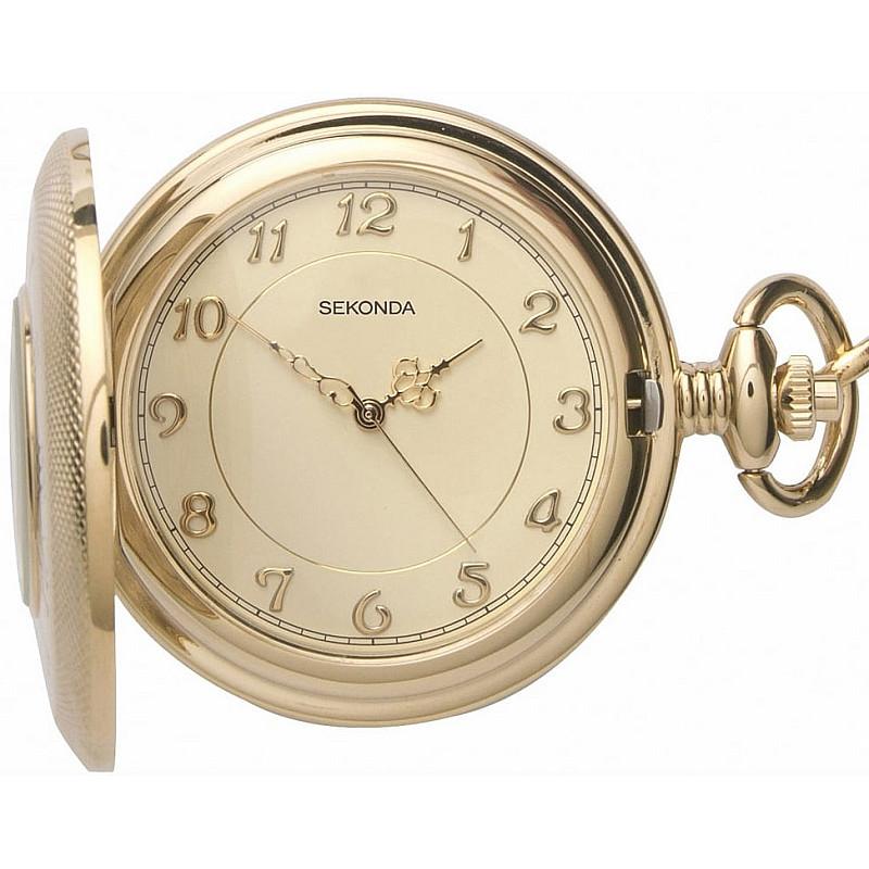 Мъжки джобен часовник Sekonda - S-3469.30