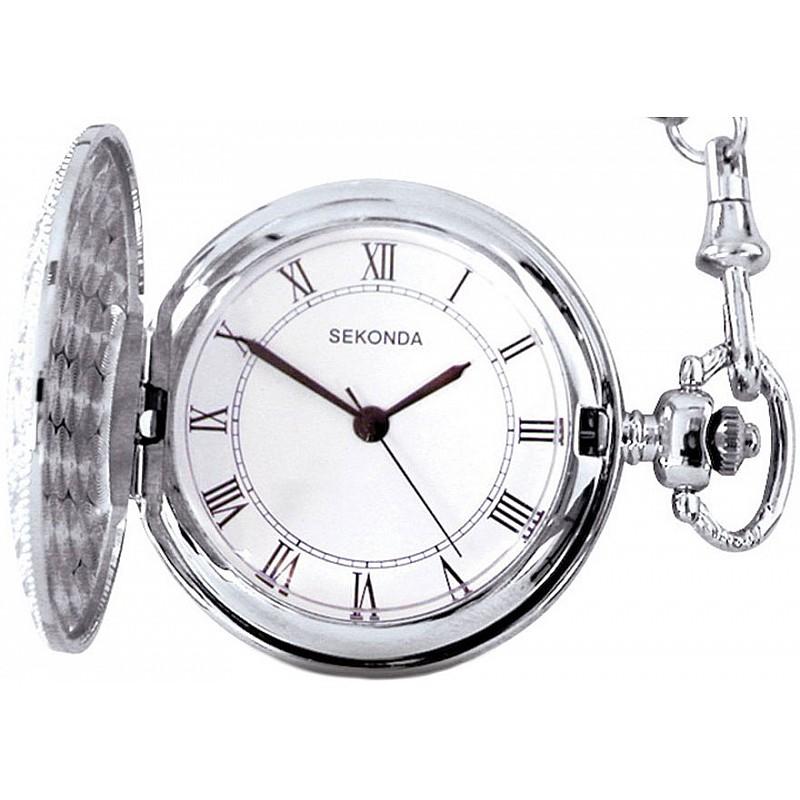 Мъжки джобен часовник Sekonda - S-3798.30