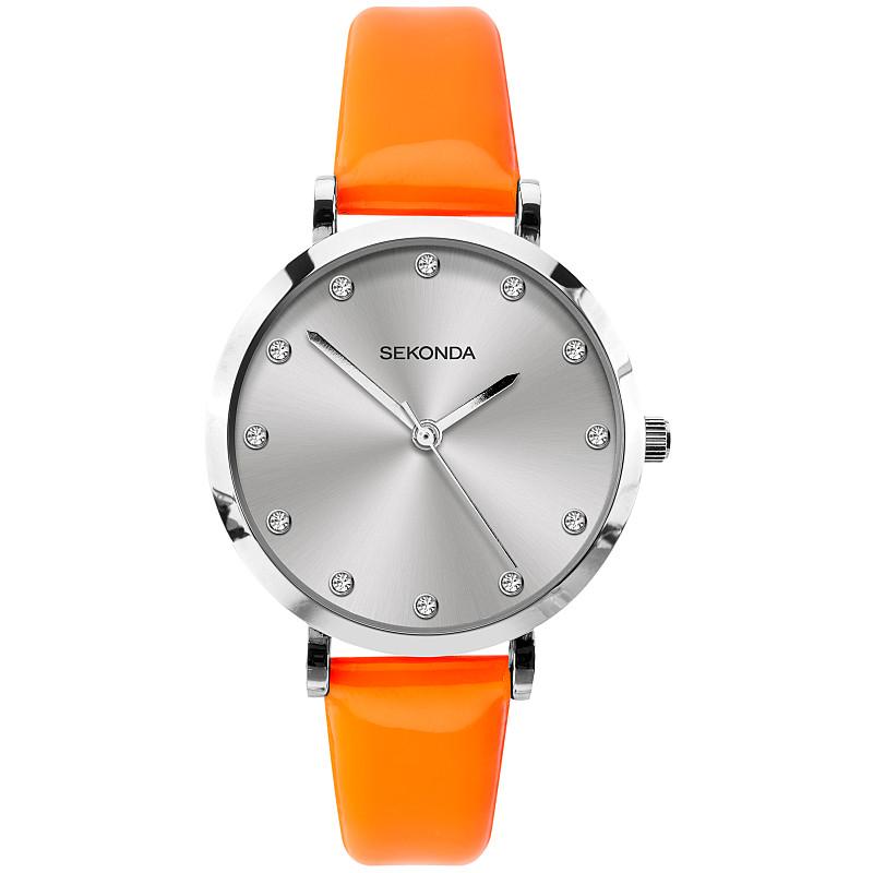 Дамски часовник Sekonda Editions Neon Orange - S-40011.00 1