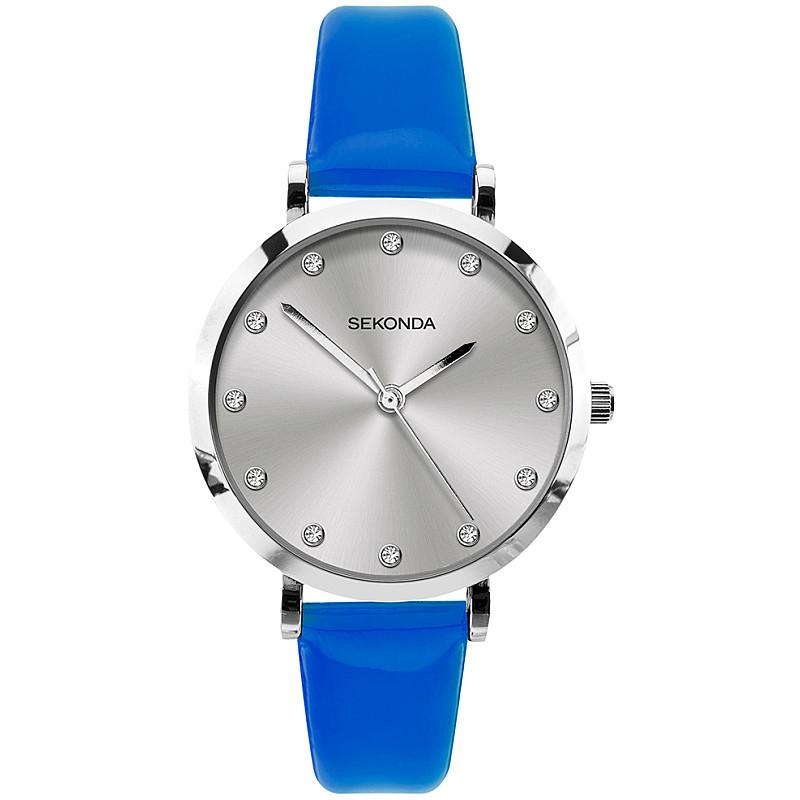 Дамски часовник Sekonda Editions Neon Blue - S-40013.00 1