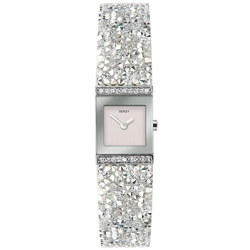 Дамски часовник Seksy Swarovski Crystals - S-40042.37 1