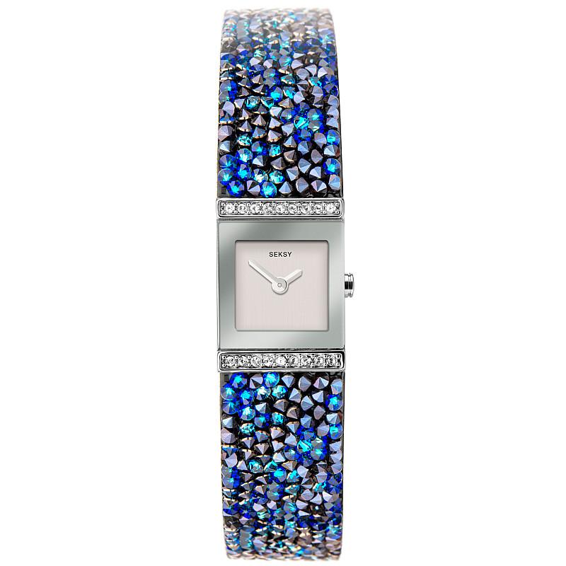 Дамски часовник Seksy Swarovski Crystals - S-40043.37 1