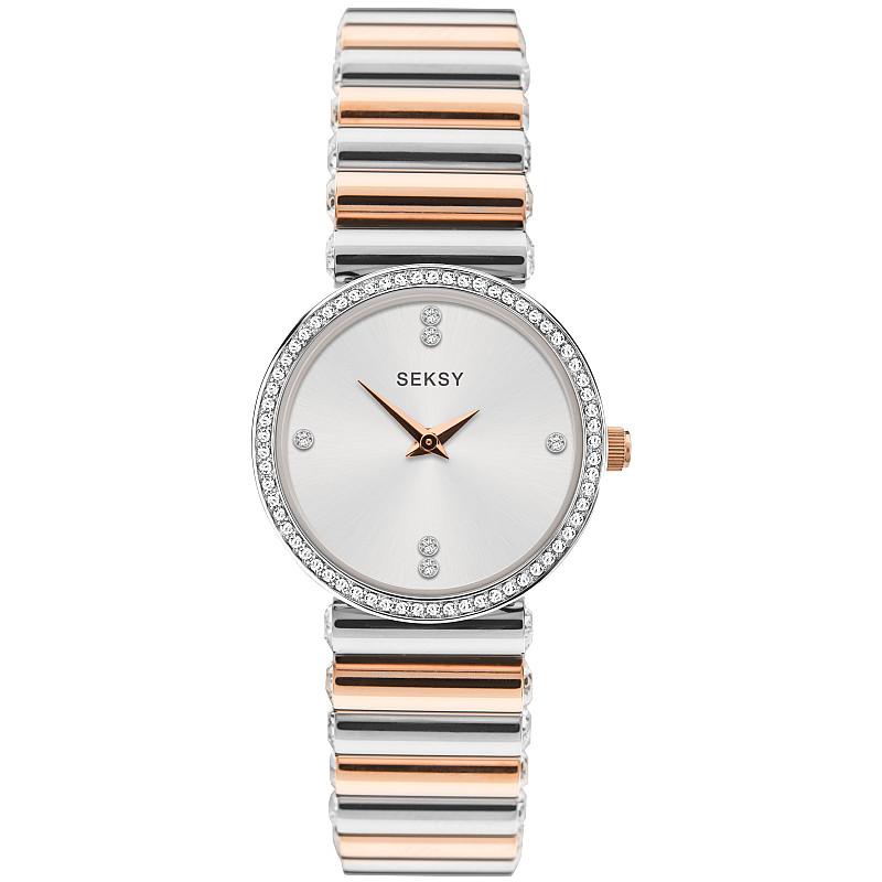 Дамски часовник Seksy Edge Swarovski Crystals - S-40045.94 1