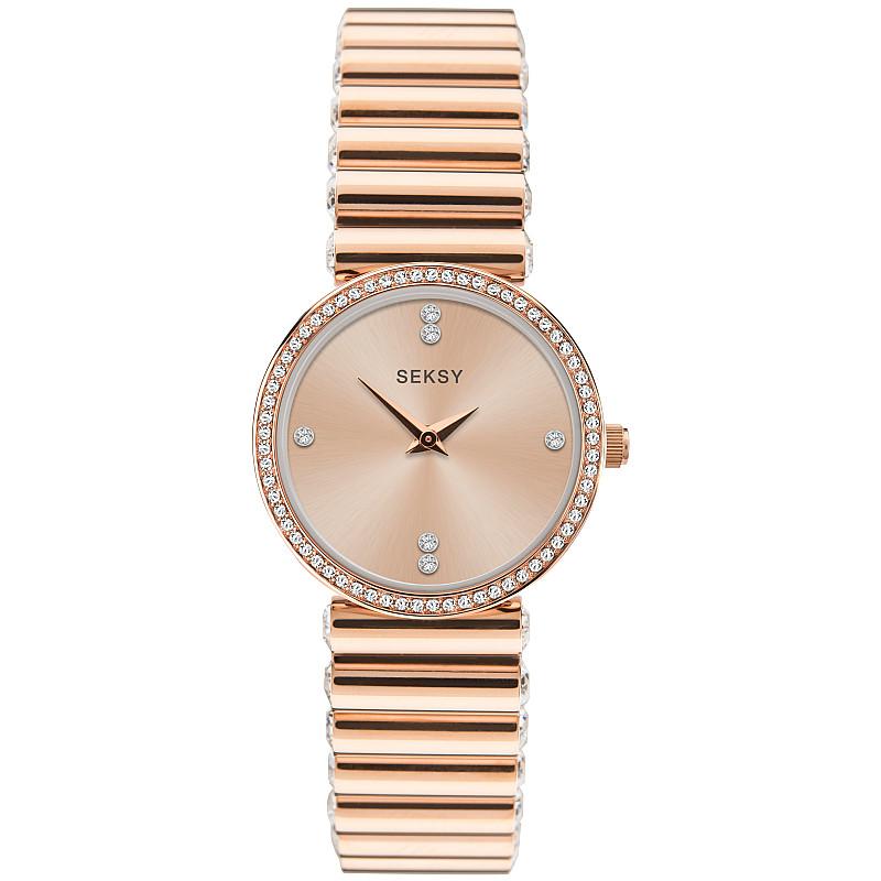 Дамски часовник Seksy Edge Swarovski Crystals - S-40046.37 1